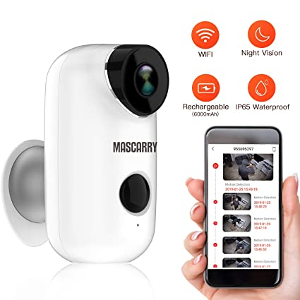 Outstanding Amazon Com Mascarry Wireless Wifi Home Security Camera System With Wiring Cloud Peadfoxcilixyz
