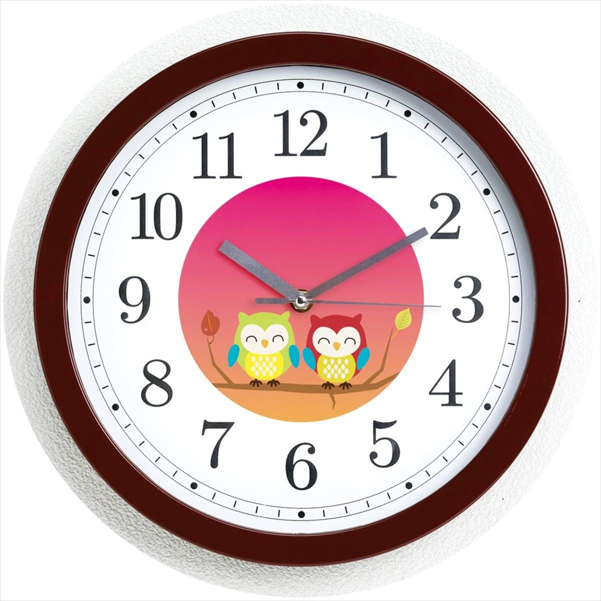 Kakusee Happy couple Owl wall clock from Japan
