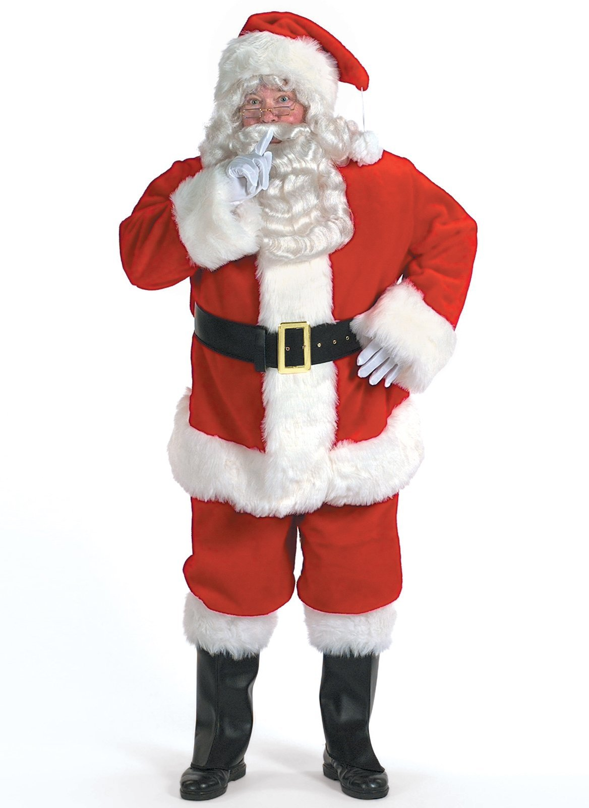 Halco Holidays Men's Professional Santa Claus Suit Costume, Size 58-62
