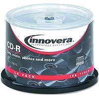 Innovera 77950 CD-R 700MB 50pieza(s) CD en blanco - CD-RW vírgenes (CD-R)