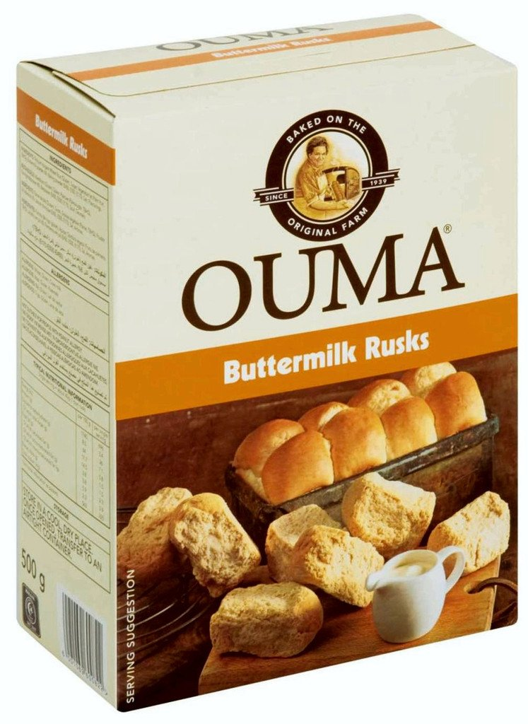Ouma Buttermilk Rusks - 500g BabyCentre