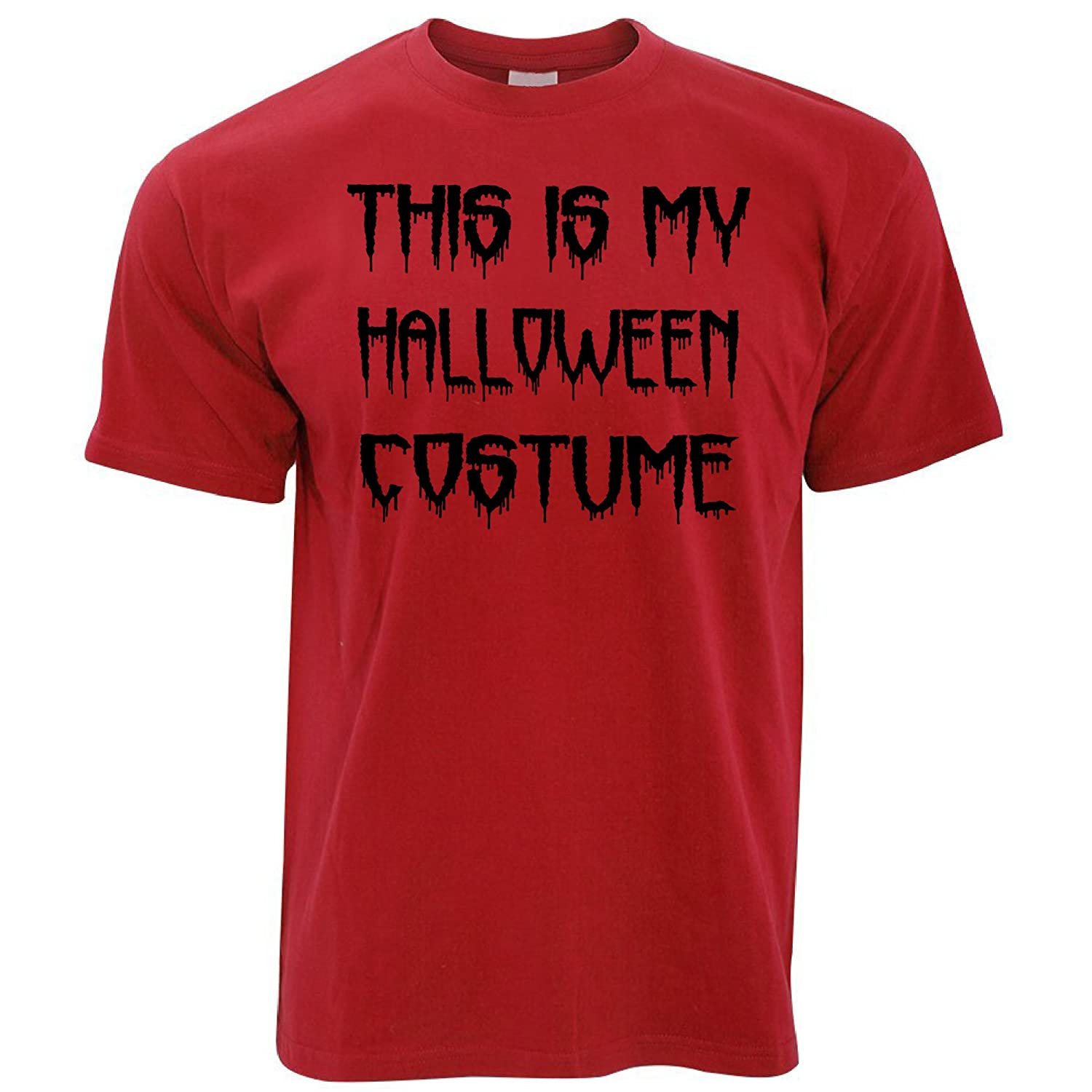 Tim And Ted This is My Halloween Costume Spooky Scary Trick Treat Dad Mom Mens T-Shirt Cool Funny Gift Present A-TS-00520x