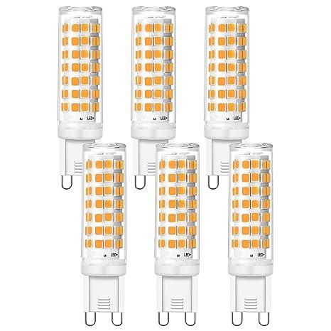 Eco.Luma - Bombillas LED G9 regulables, luz blanca cálida ...