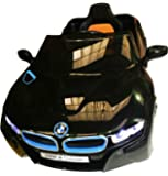 BMW i8 Licensed Children Kids Ride On Car With Parental Remote Control Black