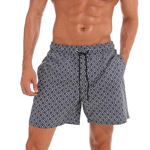 dfc4d1e22e1e0 Image Unavailable. Image not available for. Color: Simayixx Men Shorts  Summer Bathing Suits ...