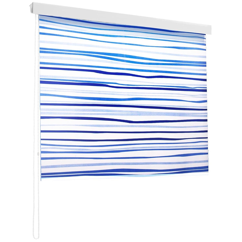 Store de douche casa pura Lines impermé able | 4 tailles | antibacté rien, sans plastifiants, é cologique | fixation au plafond | 160x240cm écologique | fixation au plafond | 160x240cm