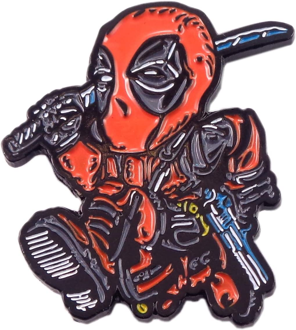 Chibi Deadpool Pin