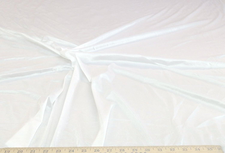 Amazon.com: tela de nailon tela de punto Stretch Blanco 108 ...