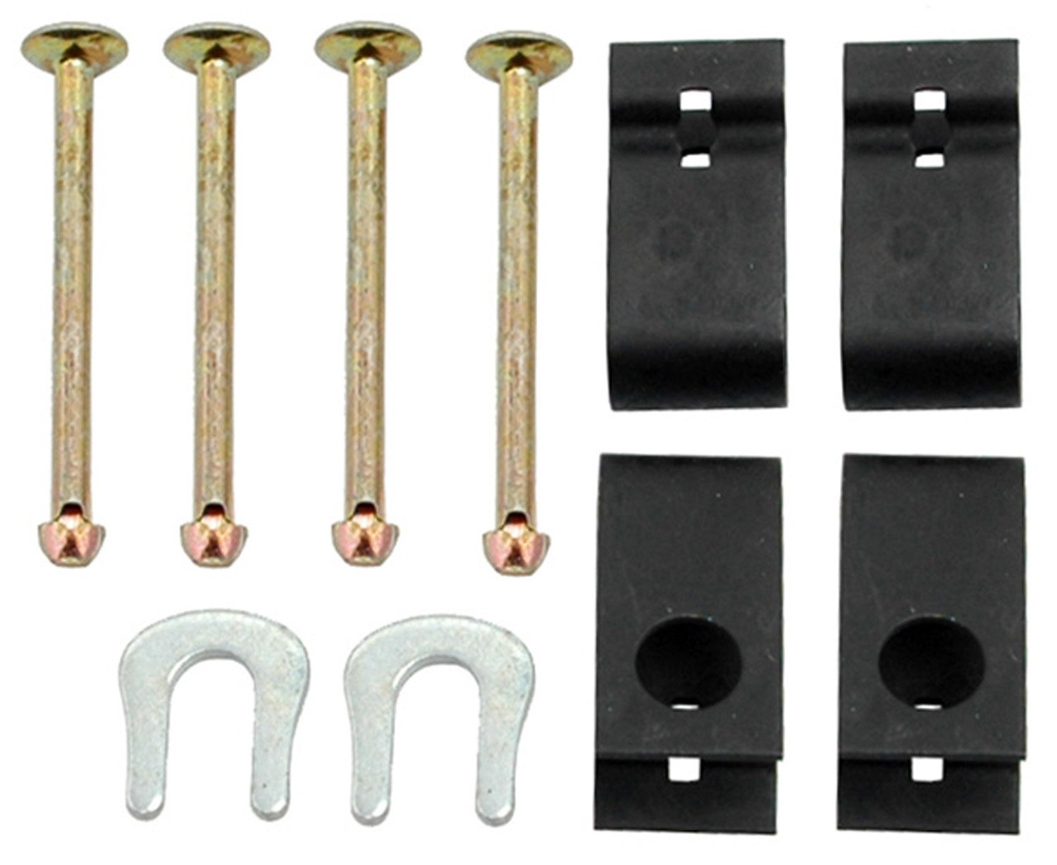 ACDelco 18K792 Professional Rear Drum Brake Shoe Hold Down Kit with Pins Retainers and Washers