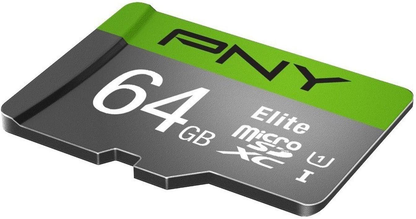 P-SDU64U185EL-GE UHS-I U1 up to 85MB//Sec New PNY Elite 64GB Microsdxc Card