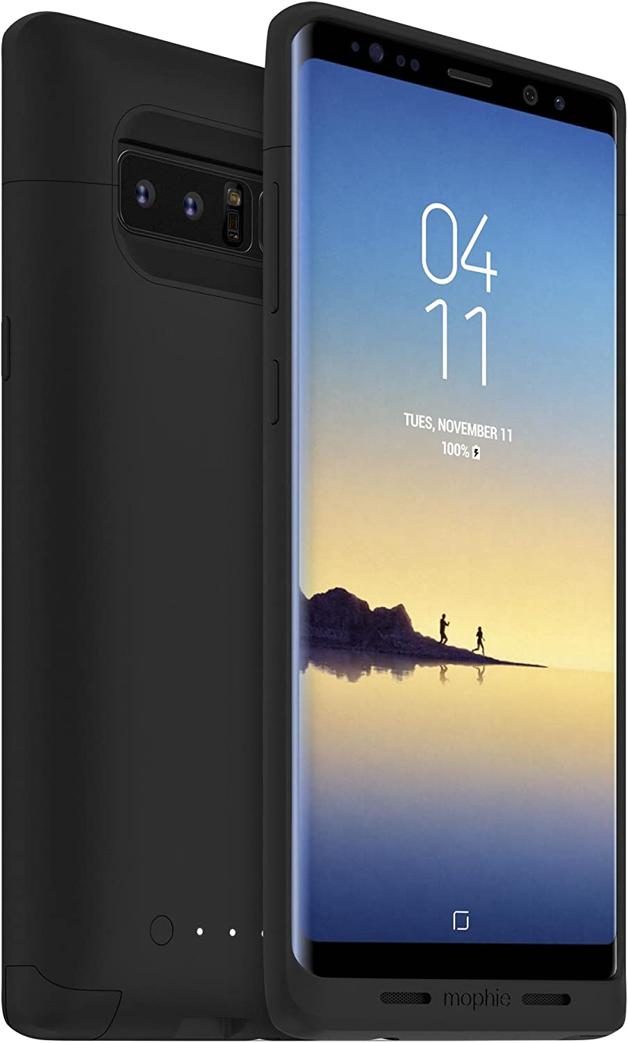 Mophie juice pack - Protective Battery Case - Made for Samsung Galaxy Note 8 - Black (4101_JP-SGN8-BLK)