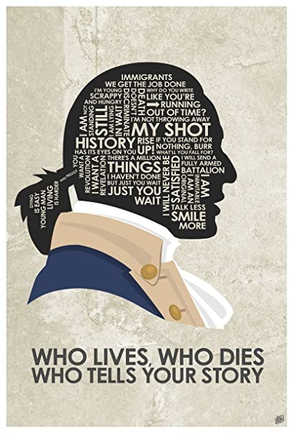 amazon com hamilton who lives who dies who tells your story word