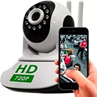 Câmera Ip Hd 720 Alta Resolução WIFI baba Eletrônica