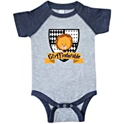inktastic - Infant Creeper 6 Months Vintage Heather and Navy 28c0c