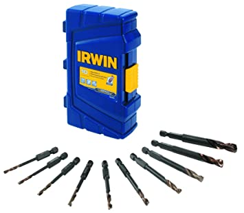 IRWIN Tools 1881324 Impact Performance Series Turbomax Black and Gold Drill Bit Pro Set Case,