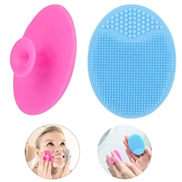 Beauty & Health Popular Brand 1 Pcs Soft Silicone Heart Facial Cleansing Brush Face Washing Exfoliating Blackhead Brush Remover Skin Spa Scrub Pad Tool Face Skin Care Tools