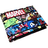 Superhero PVC material Bifold Wallet (Superhero Comics Edition)