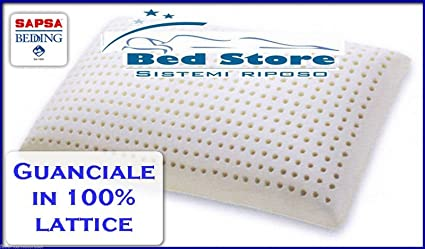 Cuscino In Lattice Pirelli.Offerta Cuscino Guanciale In Lattice 100 H13cm Sapsa Bedding Ex Pirelli Bedding