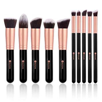 Bestope Make Up Pinsel Set 10 Stücke Kosmetikpinsel Mit