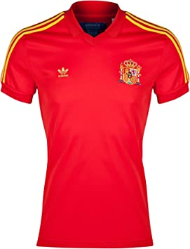 adidas Originals Maillot Retro España Rojo Talla:Medium: Amazon.es: Deportes y aire libre