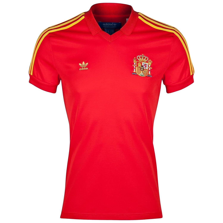 adidas Originals Maillot Retro España Rojo Talla:Medium: Amazon.es ...