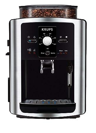 Krups Espresso Automatic EA8010, Negro, Plata, 1450 W, 245 x 330 x 365 mm - Máquina de café: Amazon.es: Hogar