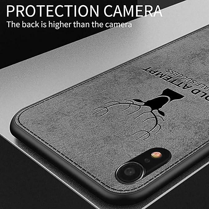 Wawer Carcasa iPhone XR, ultr-Tine 3D Deer Impresora Case Cover ...