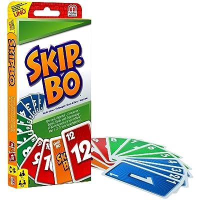 Mattel Skip-BO (52370): Toys & Games