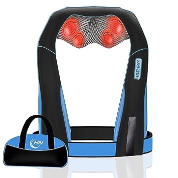 Elektrische Massagegeräte Elektrische Massagegerät Mit Wärmefunktion Für Schulter Nacken Rücken De