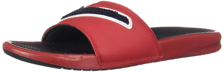 various colors ec54f a7dcb Amazon.com   Nike Benassi JDI Chenille Slide Gym Red Mens   Sport Sandals    Slides