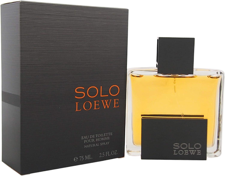 Loewe Solo 15688 - Agua de colonia, 75 ml