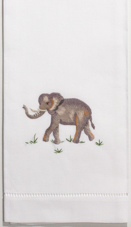 Henry Handwork Elephant Hand Towel