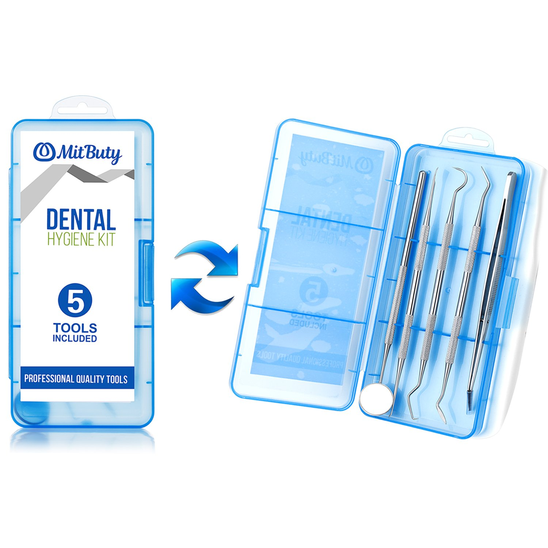 Amazon Dental Hygiene Tools Kit & 2pcs Bamboo Toothbrush
