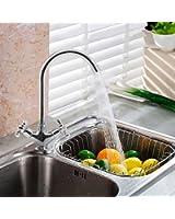 TAPCET 360 °rubinetto del lavandino con doccetta Miscelatore/rubinetti calda e fredda per cucina e bagno