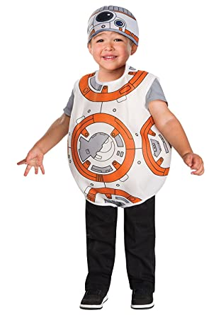 5f533785416 Amazon.com  Star Wars BB-8 Toddler Boys Costume by Rubies (Size 3T - 4T    3-4 Years)  Clothing