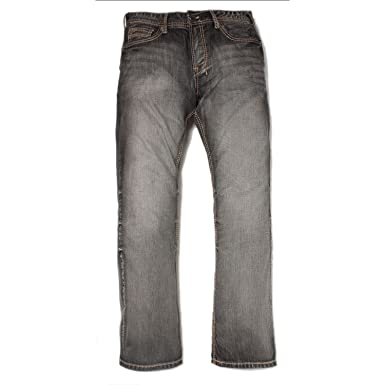 c5695d22 Image Unavailable. Image not available for. Color: Axel Black Rock Relaxed  Straight Denim Jeans (30 x 32 ...