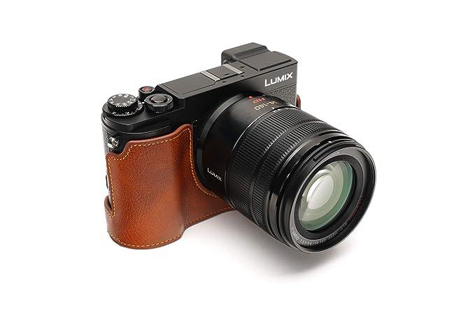 Funda para cámara Lumix DC-GX9, BolinUS, Hecha a Mano, de Piel ...