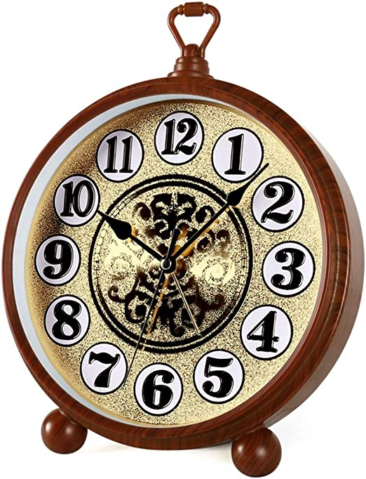 Yxx max *Reloj de Mesa Relojes de Mesa AA Reloj de Mesa a batería para