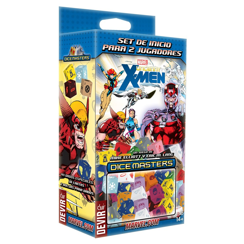 Amazon.com: Devir – Dice Master Uncanny X-Men, Dice Game ...