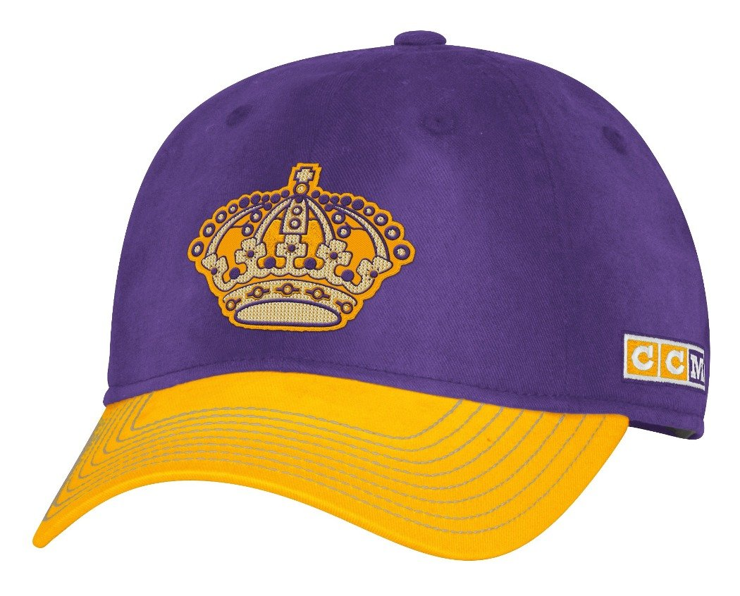 wholesale dealer 56668 07bba Amazon.com   adidas Los Angeles Kings CCM NHL Classic Sun Bleached Slouch Adjustable  Hat   Sports   Outdoors