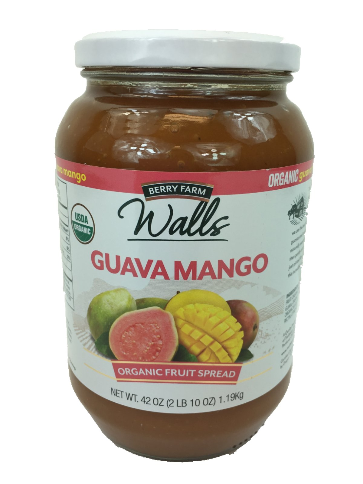 Wall Guava Mango Organic Fruit Spread