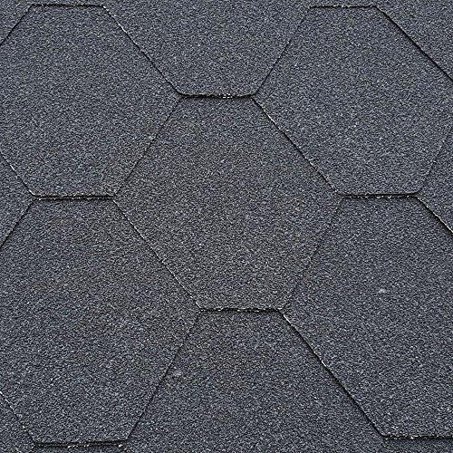 Roofing Felt Shingles   Shed Roof Felt Tiles   Free Adhesive   Hexagonal  ...