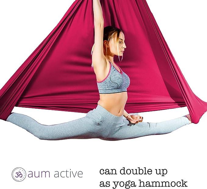 Amazon.com: Aerial Silks - Kit de iniciación para yoga, yoga ...