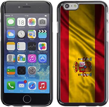 FJCases España Español Bandera Ondeante Carcasa Funda Rigida para Apple iPhone 6 Plus/iPhone 6S Plus: Amazon.es: Electrónica