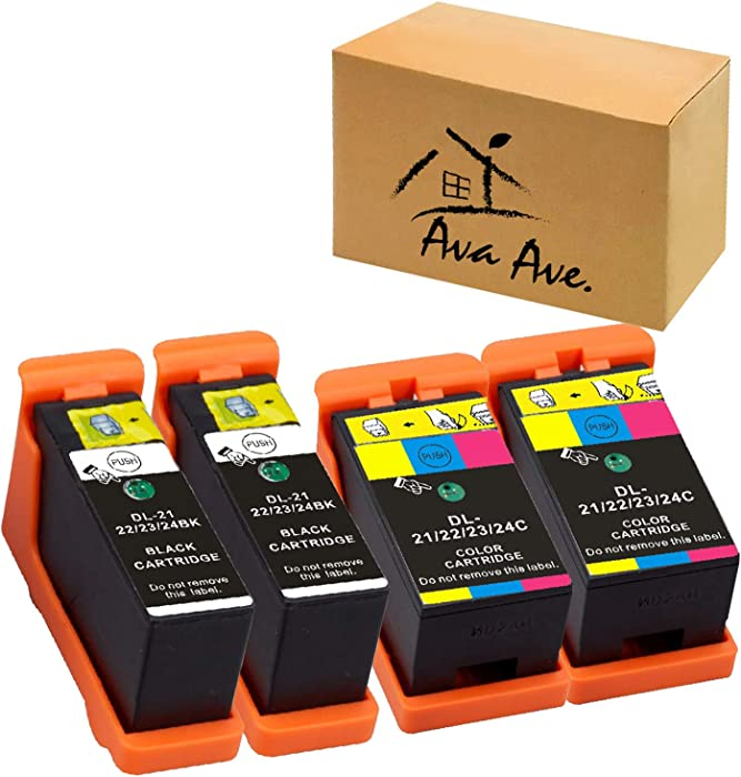 The Best Dell 21 Color Ink Cartridge