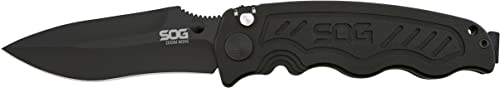 SOG Specialty Knives 257385 Zoom Mini – Aluminum TiNi