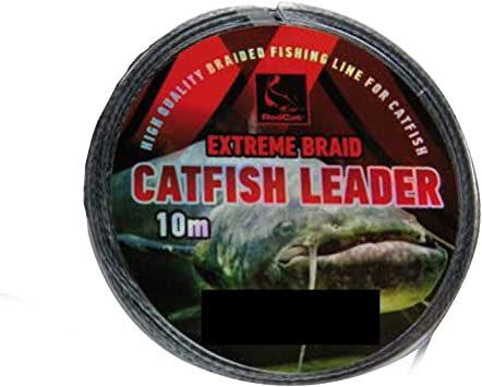 Raubfisch Spinnfischen 3 Stück Edelstahl-Vorfach mit Schlaufe NLC 7x7 70 cm