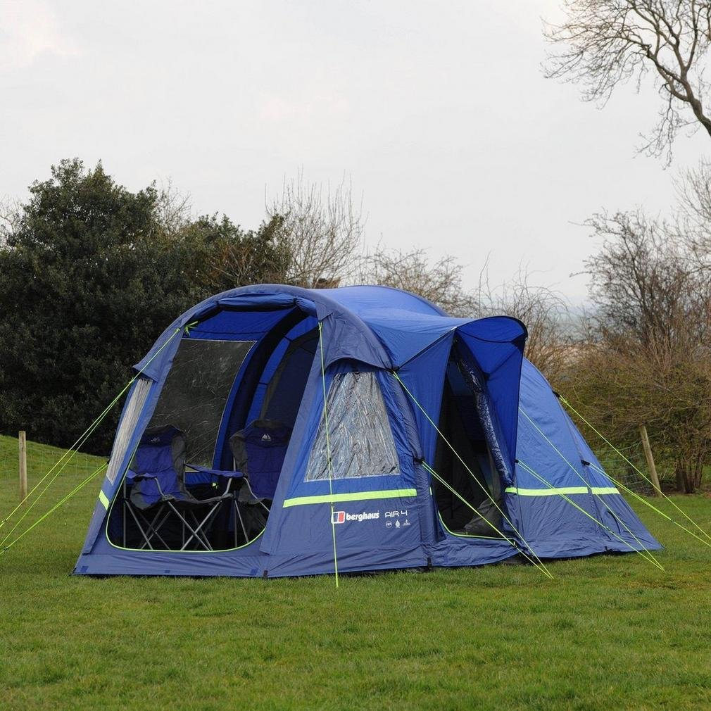 size 7 good excellent quality Berghaus Air 4 Inflatable Family Tent