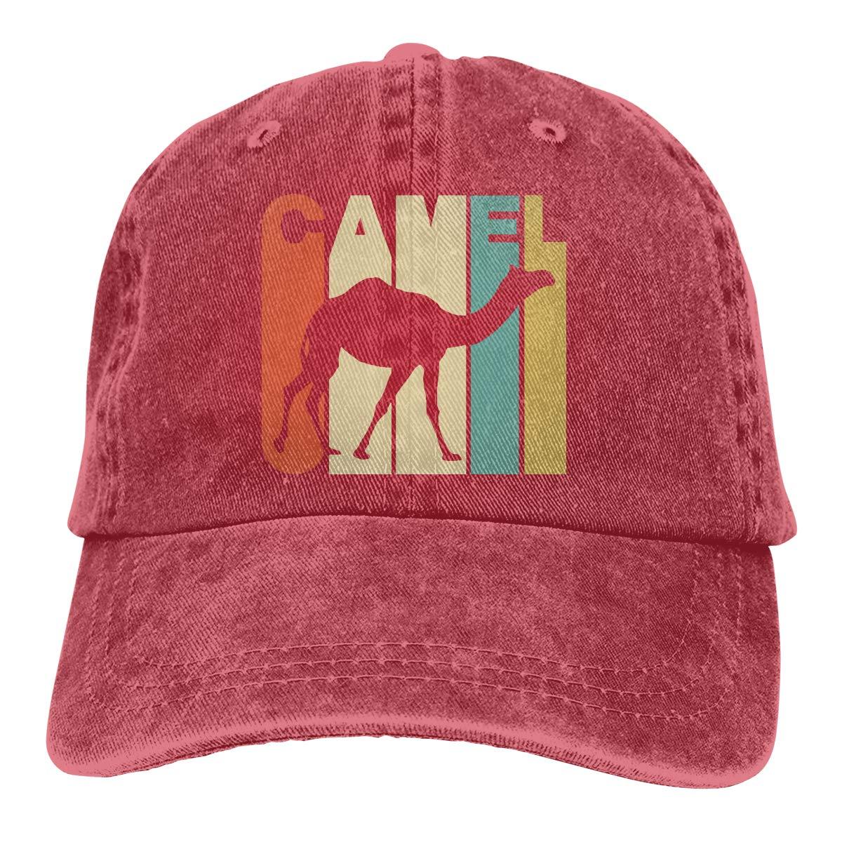 Vintage Style Camel Adult Custom Jeans Hip Hop Cap Adjustable Baseball Cap