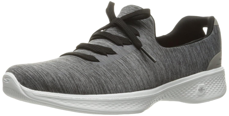 Skechers Damen Go Walk 4-A.d.c Sneaker, Grau  38.5 EU|Grau (Gybk)